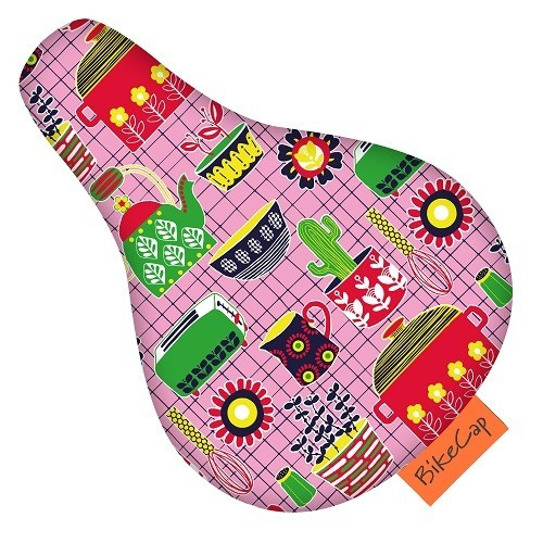 BikeCap Saddle Cover Children´S Bicycle What`s Cooking