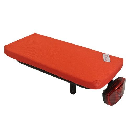 Hooodie Luggage Carrier Cushion Cushie - Bright Solid Red