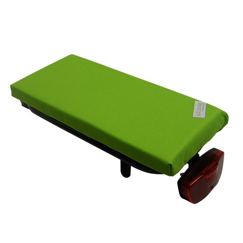 Hooodie Luggage Carrier Cushion Cushie - Solid Lime