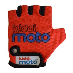 Kiddimoto Gloves Red Small