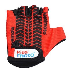 Kiddimoto Gloves Red Tyre Small