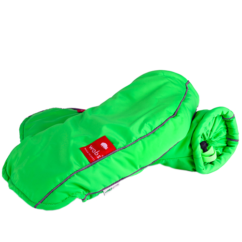 Wobs Hand Warmers Fluo Green Brake Lever Version