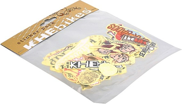 KHE Sticker Set With Approximately 25 Different Designs