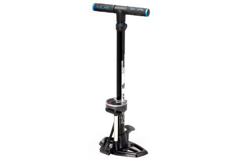 XLC Delta Bicycle Pump Aluminum With ManoMeter - Black
