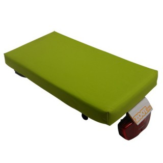 Zoot Luggage Carrier Cushion Sitz Apple Green - Size S
