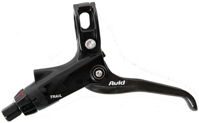 Avid Brake Lever X0 Trail Carbon Gripshift Compatible Black