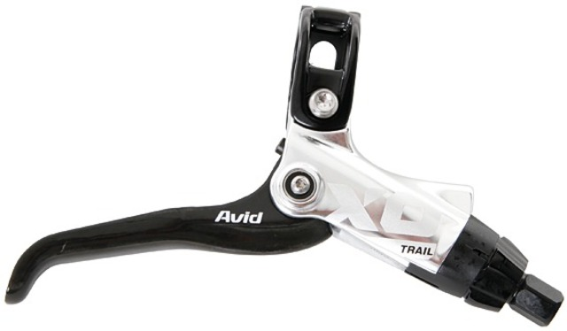 Avid Brake Lever X0 Trail Carbon Gripshift Compatible Silver