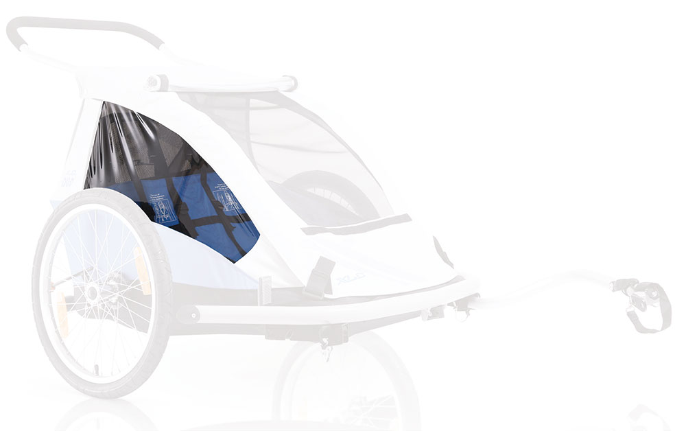 XLC Bicycle Trailer Seating Blue for Duo