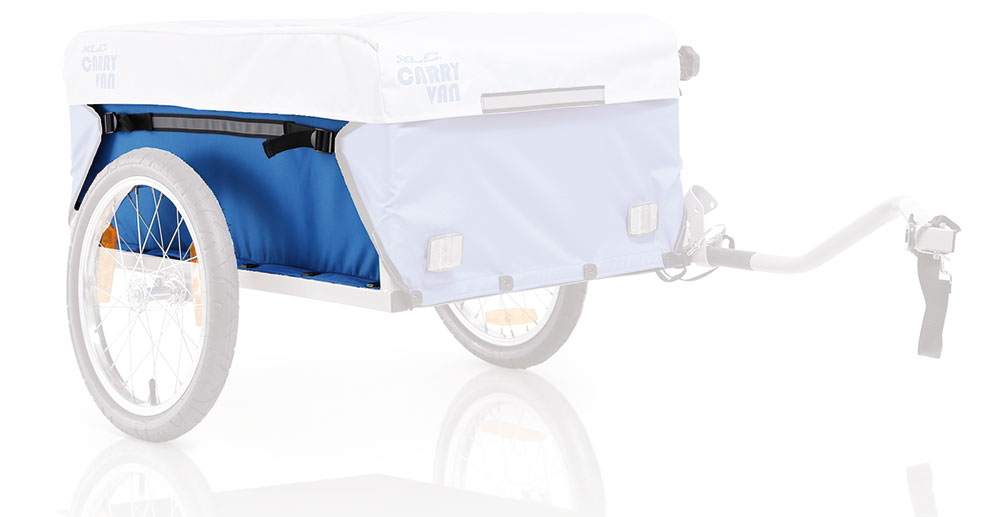 XLC Bicycle Trailer Zijdek R or L Silver for Carry