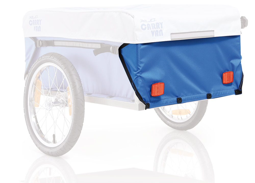 Xlc Cloth For Carry Bicycle Trailer Rear - Blue