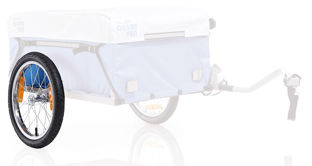 XLC Bicycle Trailer 16 Inch Wheel for Carry/Cargo