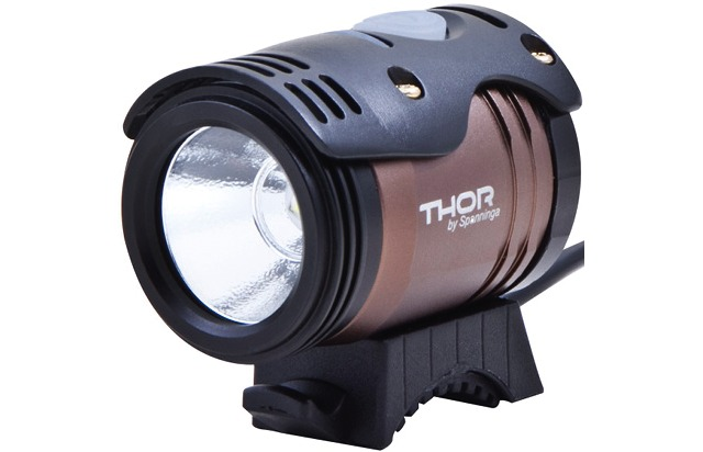 Spanninga Helmet Lamp Thor 1100 Lumen Incl. Battery / Charge
