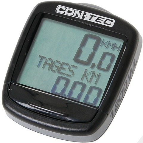Contec Cycle Computer C-1200 Wireless with Thermometer