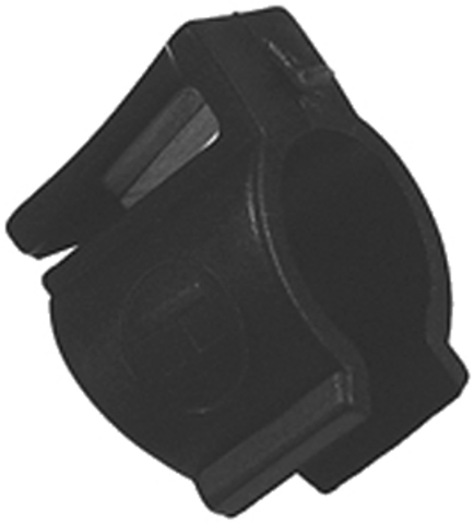 Contec Dress Guard Clip Ø16mm - Black