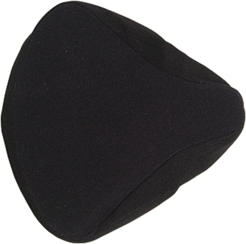 Haberland Seat Cover Velours Gepolsterd Black