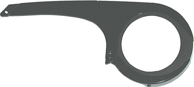 Horn Chain Guard Catena 04 Max 38T Chainring Black