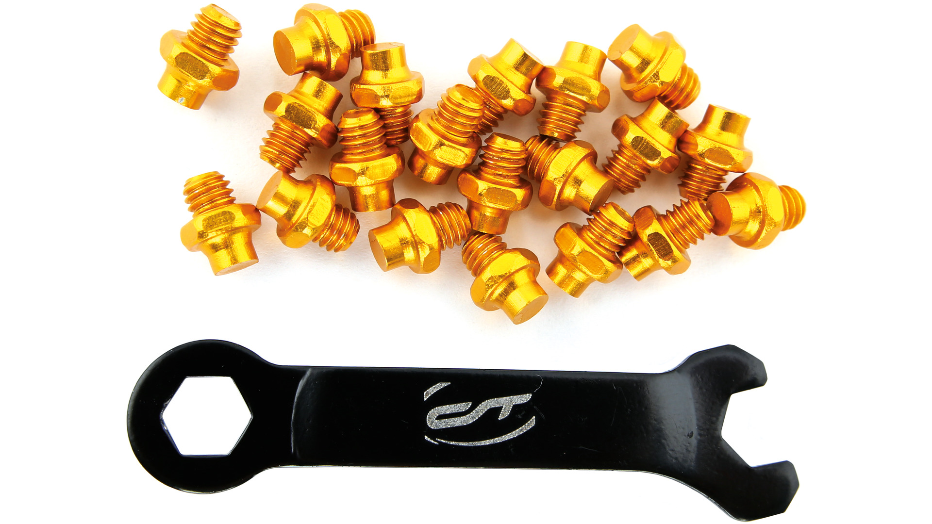 Contec Pedal Pins R-Pins Select with Wrench - Gold (20)