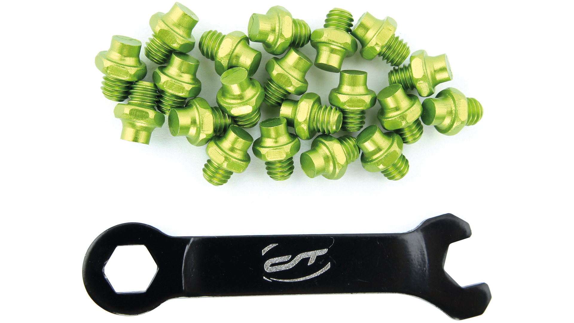 Contec Pedal Pins R-Pins Select with Wrench - Green (20)