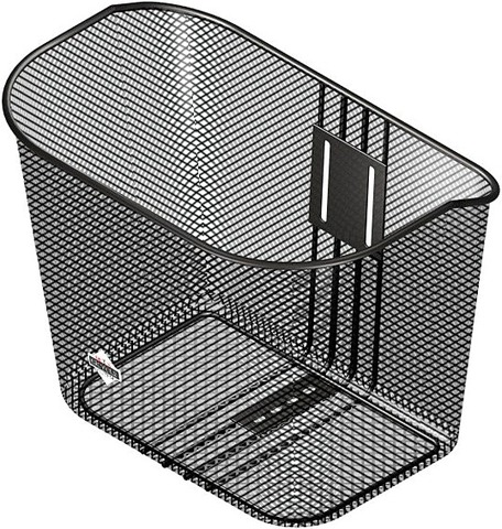 Löhr Bicycle Basket C.T.S. Incl. Mounting Material Black