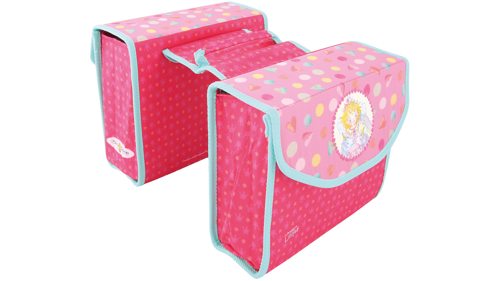Bike Fashion Childrens Pannier Princess Lillefee Pink