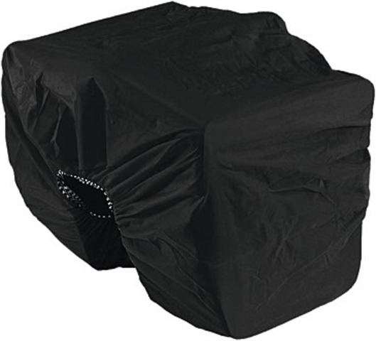 Haberland Rain Cover for Double Panniers Black