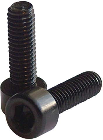 Aluminium Hex Bolts M5 x 15 Black (1)