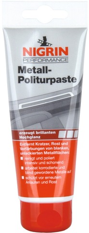 Nigrin Polijstpasta Metalpolish Tube 75ml