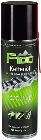 Dr. Wack Chain Oil F100 Spray Can 300ml