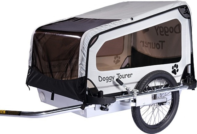 Kids Touring Dog Cart Doggy Tourer M Black/White