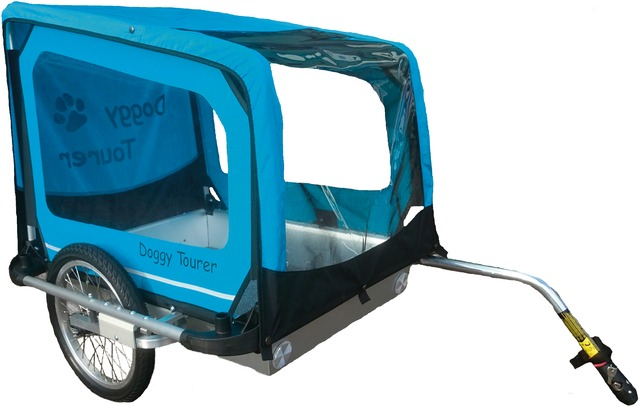 Kids Touring Dog Cart Doggy Tourer L - Blue
