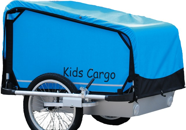 Kids Touring Bike Trailer Cargo M - Blue