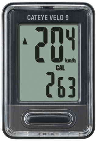 Cateye Cycle Computer Velo 9 VL820 Black