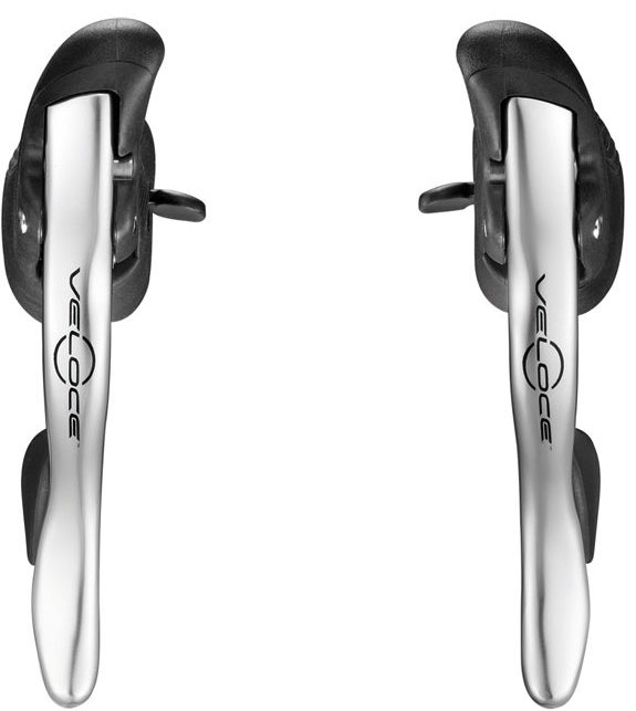 Campagnolo Shifter Set Veloce 10S Alu Ergopower - Silver