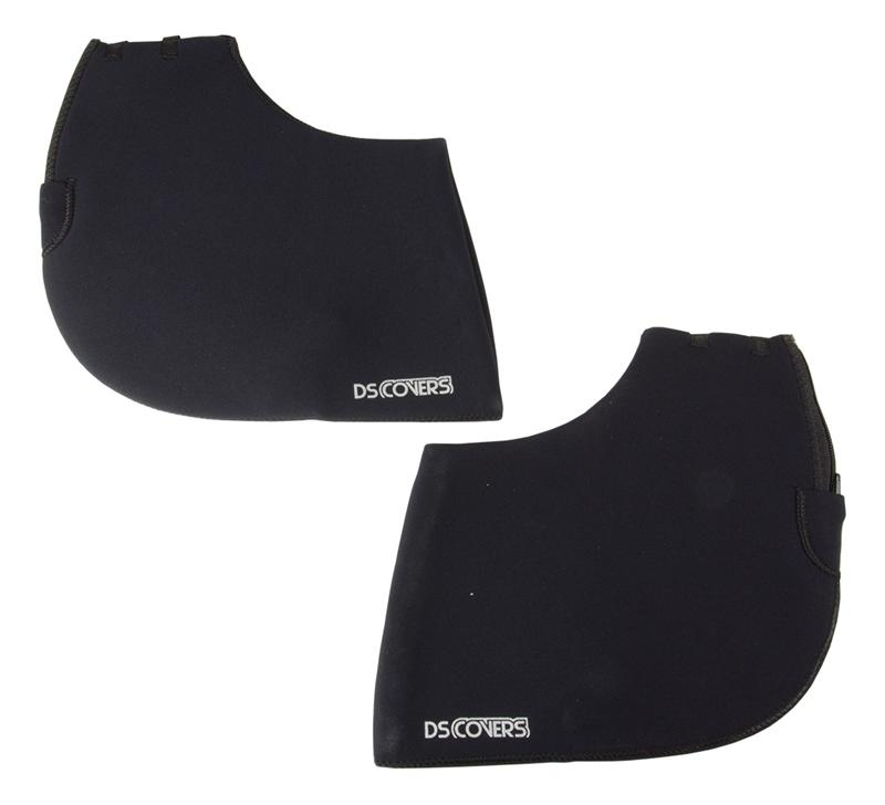 DS Covers Handlebar Muffs Curved For Straight Handlebar
