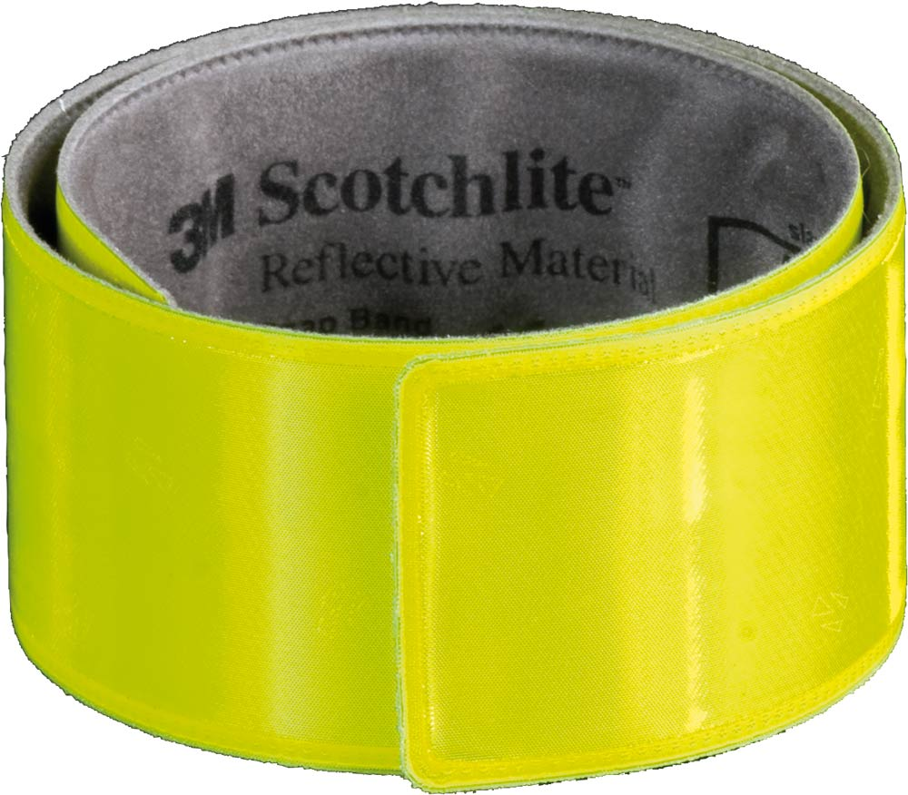 Wowow Reflective Clamping Band Snap Wrap 3x40cm - Yellow