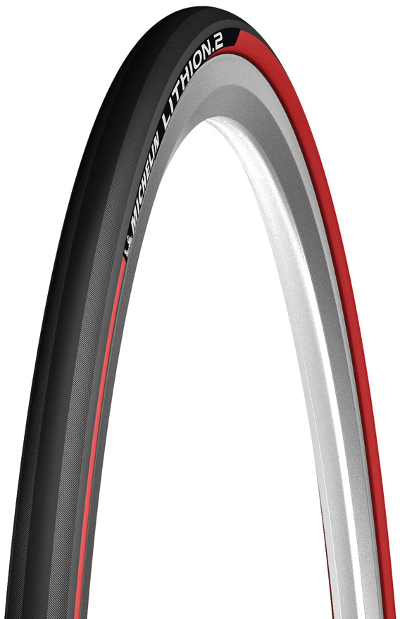 Michelin Tire Lithion 2 23-622 Foldable Black/Red
