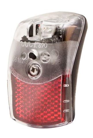Spanninga Rear Light Pixeo XB LED Batteries
