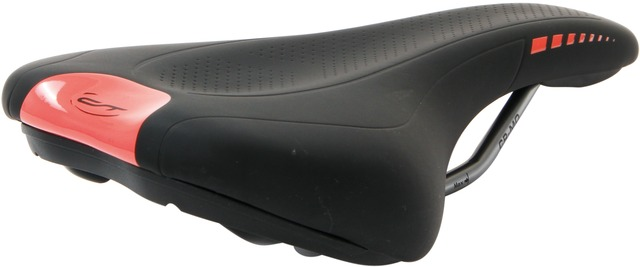 Contec Saddle NEO Sports Z Active 270x144mm - Black/Neo Red