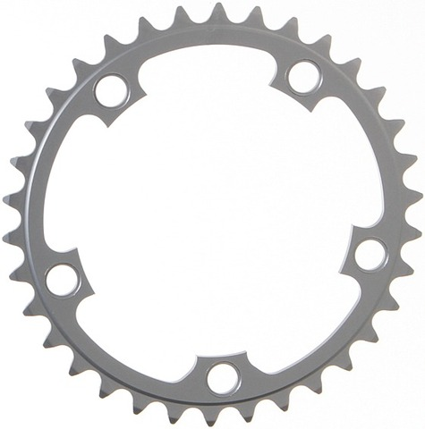 Stronglight Chainring 34 Teeth Silver