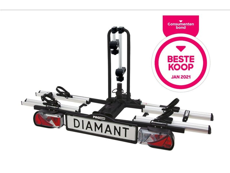 Pro User Bicycle Carrier Diamant 2015 Incl. Storage Bag