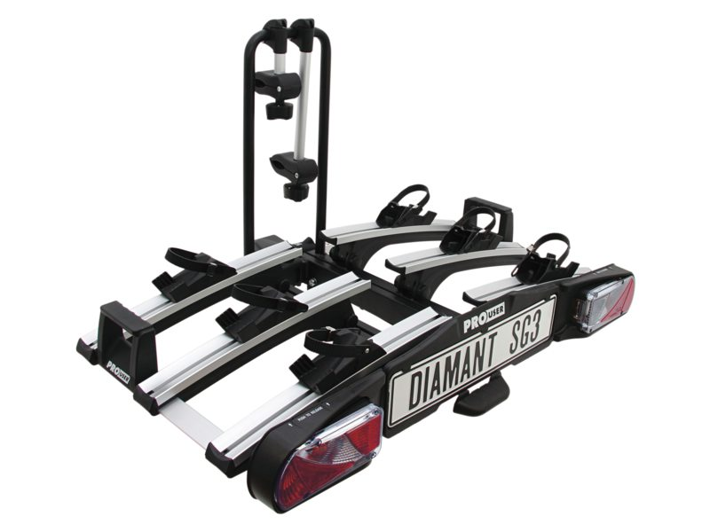 Pro User Bicycle Carrier DSG3 2015 Incl. Storage Bag