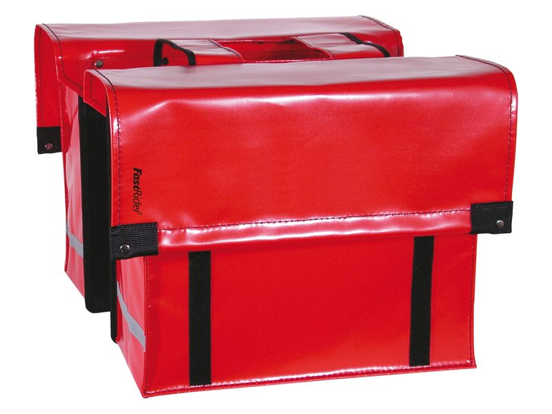 FastRider Double Pannier Cargo LED Red