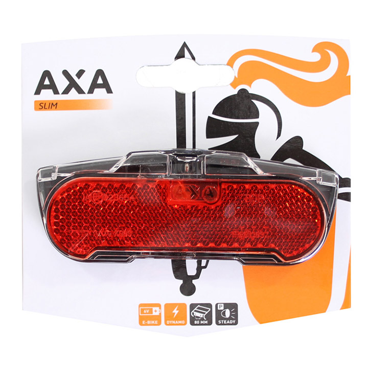Axa Rear Light Slim Steady Parking Light 50/80mm Assembly