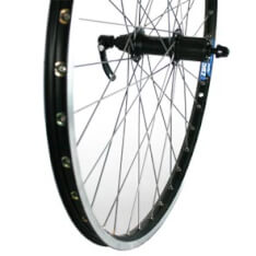 Rear Wheel 26X 1.75 Deore Stainless Zac19 Black