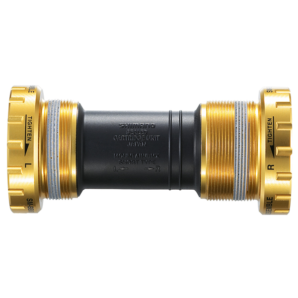Shimano Bottom Bracket Cups Saint BB80D 83mm Gold
