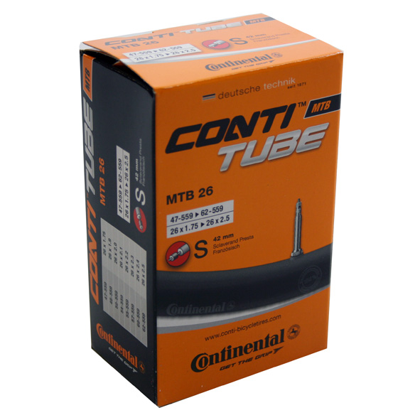 Continental Inner Tube 26X1,75 -2,50  Presta Valve 42Mm