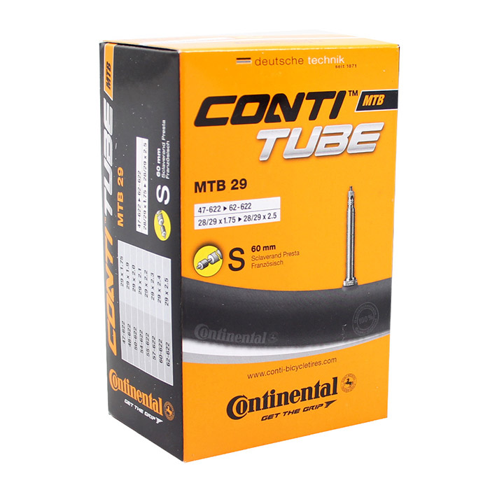 Continental Inner Tube 29 x 1.75-2.5 60mm Presta Valve