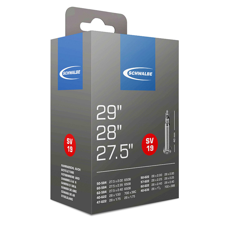 Schwalbe (Sv19) Bicycle Inner Tube 28X1.75 Presta Valve