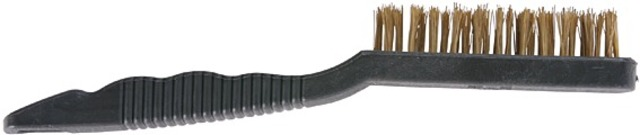 Brush with Brass Hairs - 3 Rows