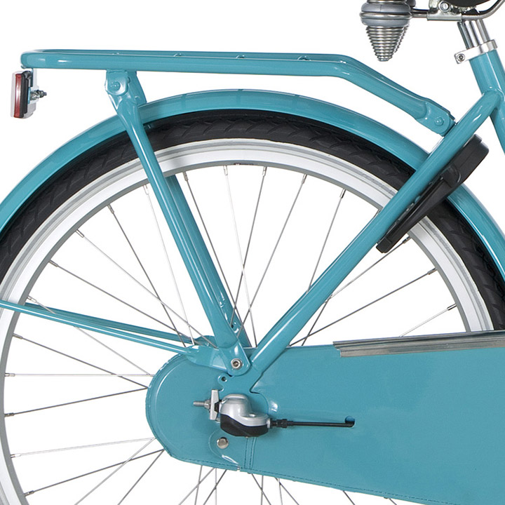 Cortina Luggage Carrier 24 Inch For U4 - Turquoise
